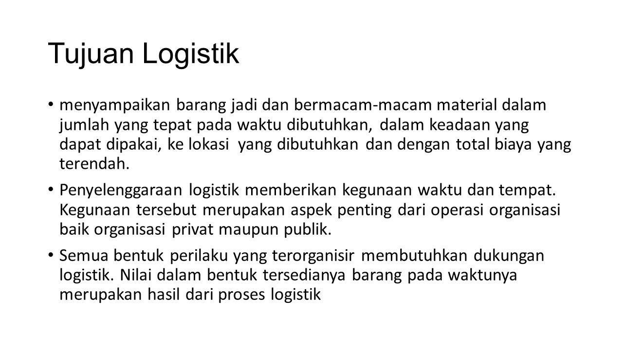 Tujuan Logistik
