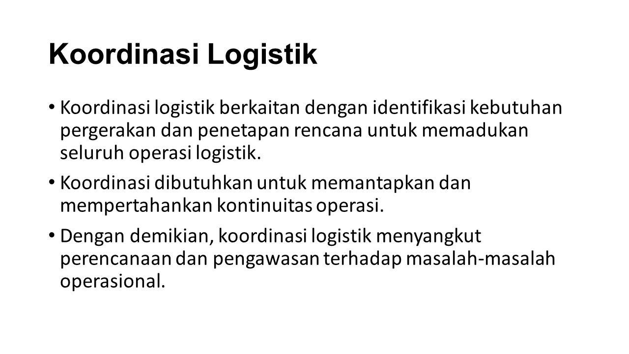 Koordinasi Logistik