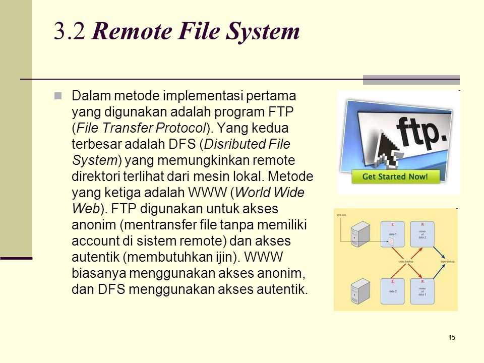 3.2 Remote File System