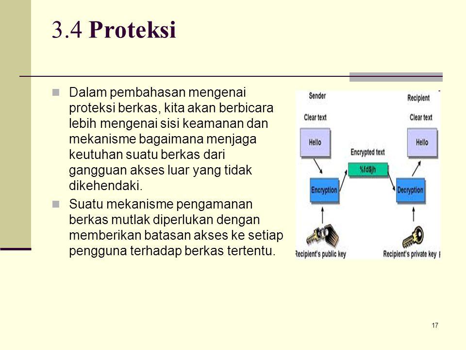 3.4 Proteksi