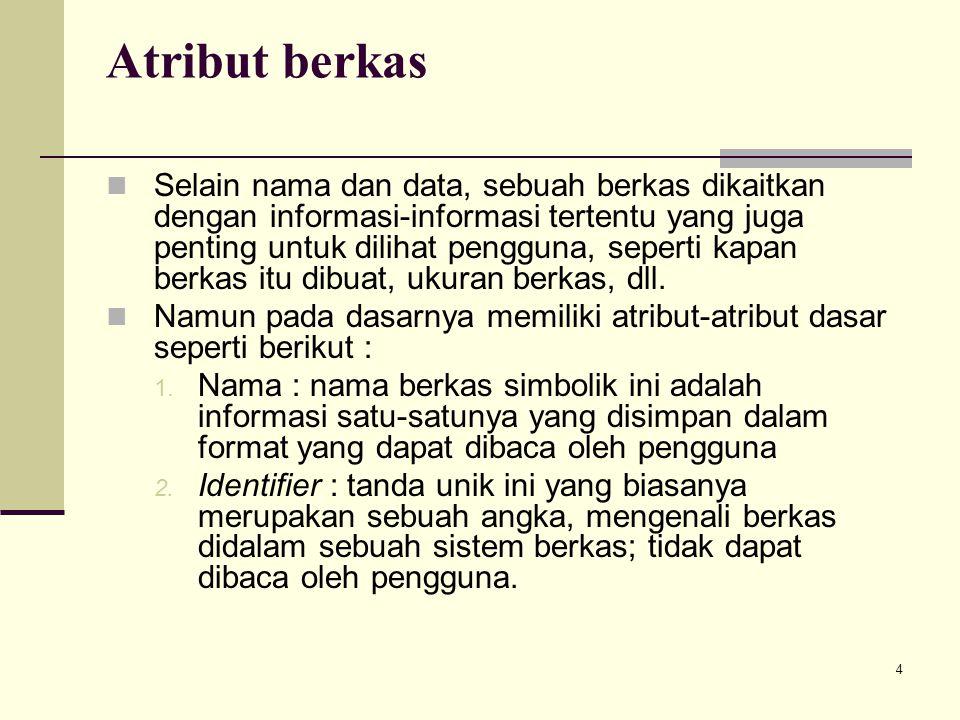 Atribut berkas