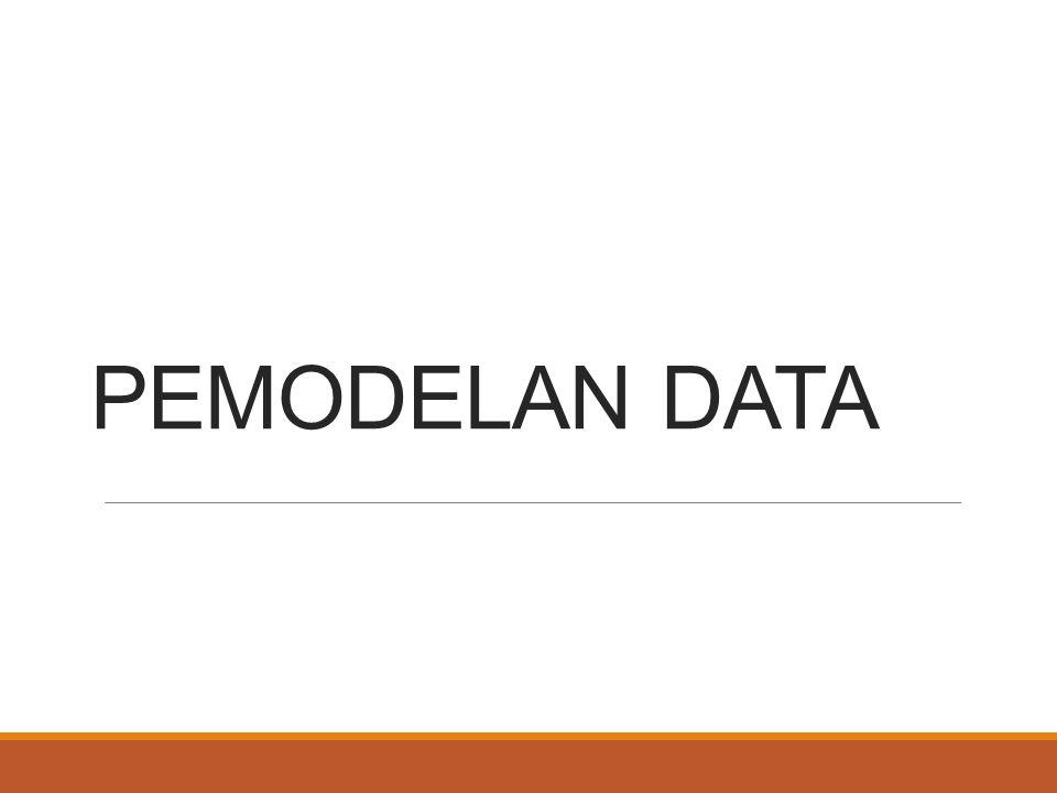 PEMODELAN DATA