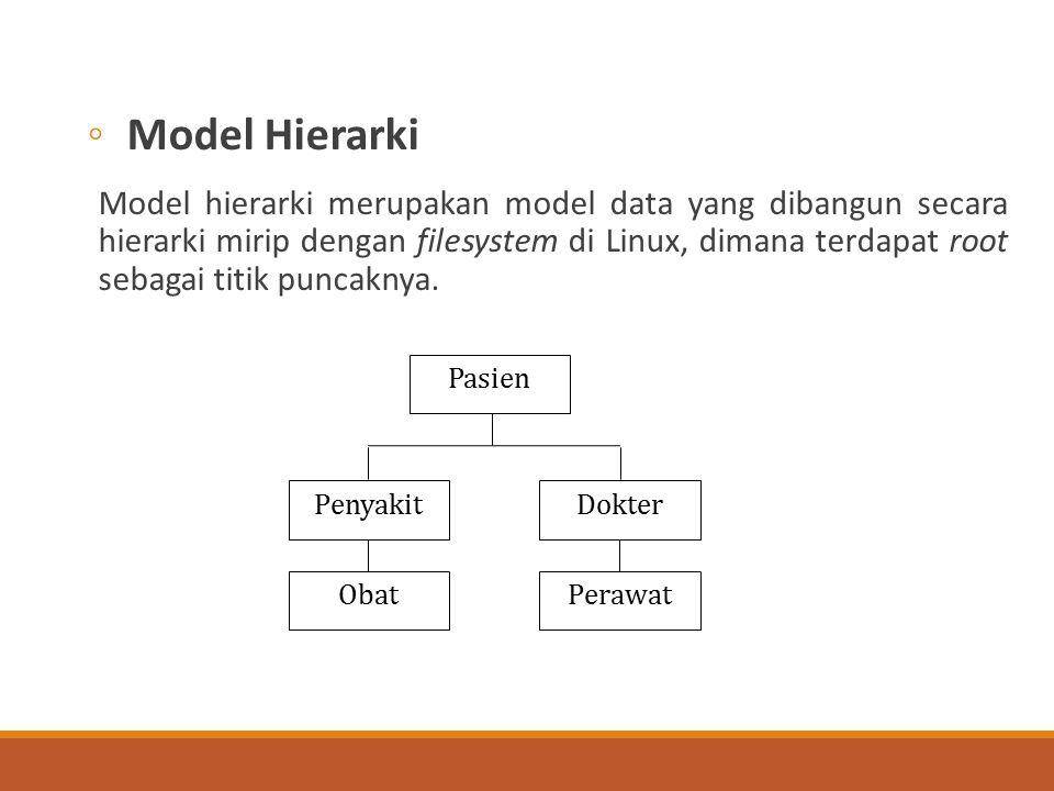 Model Hierarki