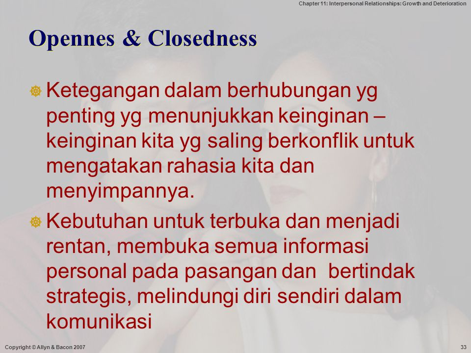Opennes & Closedness