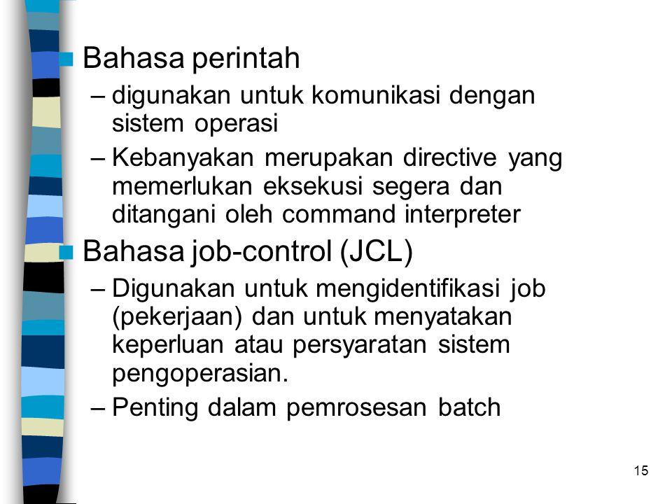Bahasa job-control (JCL)