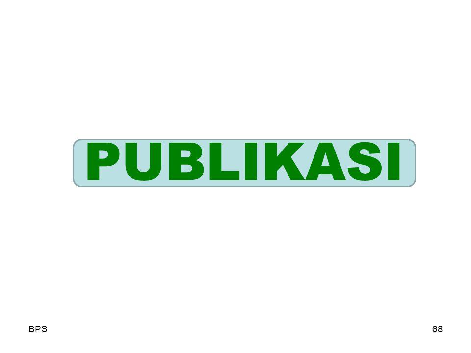 PUBLIKASI BPS
