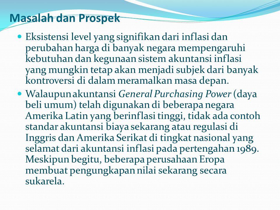 Masalah dan Prospek