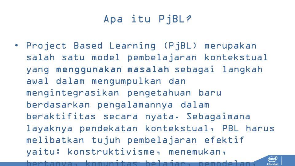 Apa itu PjBL