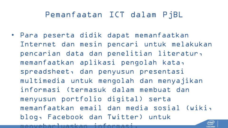 Pemanfaatan ICT dalam PjBL