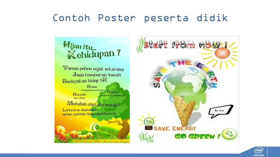 Contoh Poster peserta didik