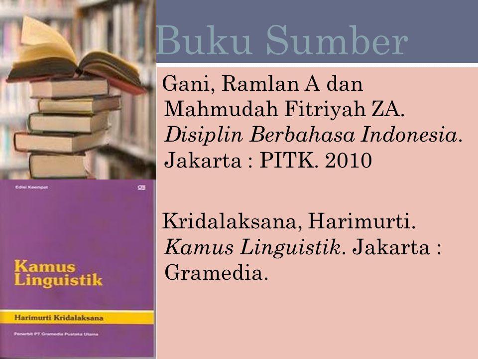 Buku Sumber