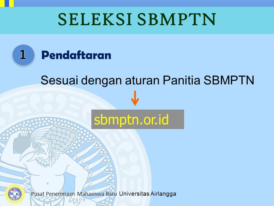SELEKSI SBMPTN 1 sbmptn.or.id Pendaftaran