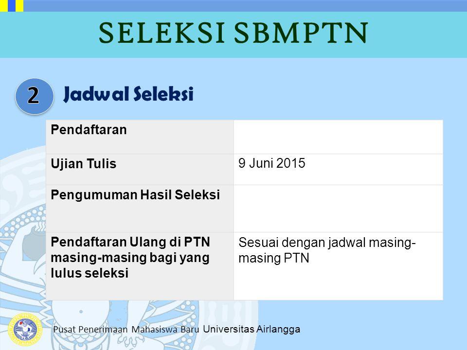 SELEKSI SBMPTN 2 Jadwal Seleksi Pendaftaran Ujian Tulis 9 Juni 2015