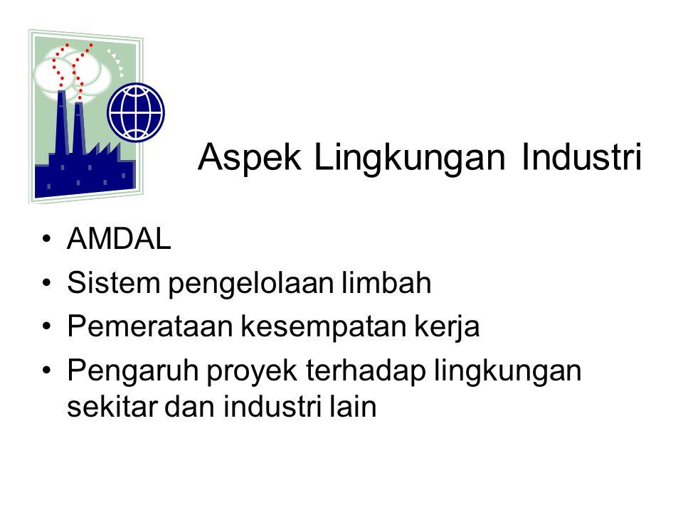 Aspek Lingkungan Industri