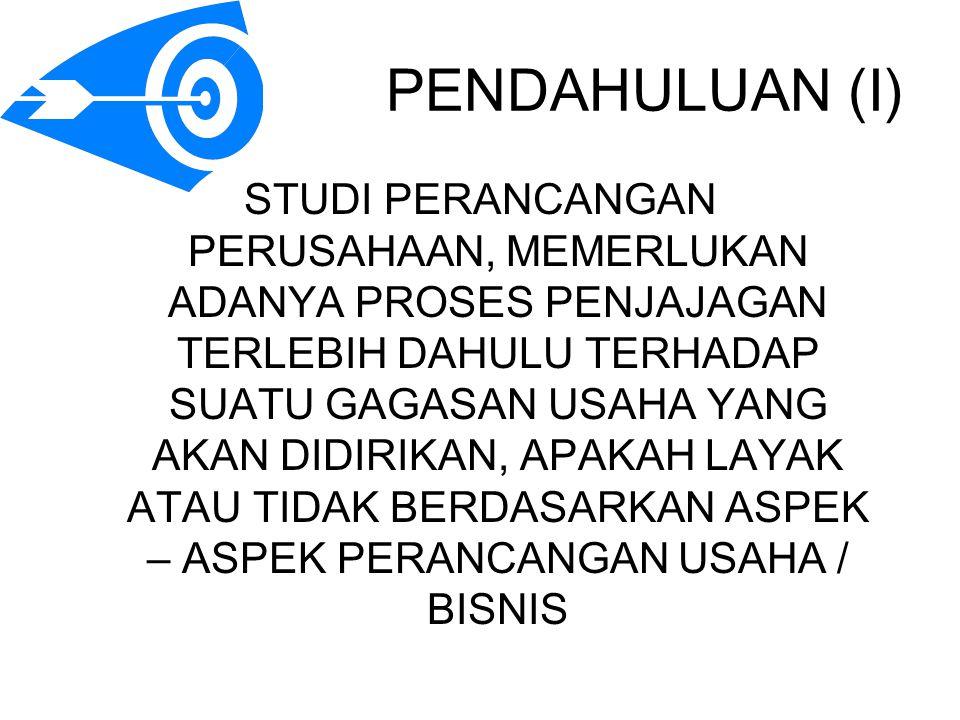 PENDAHULUAN (I)