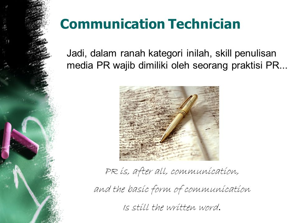 Communication Technician