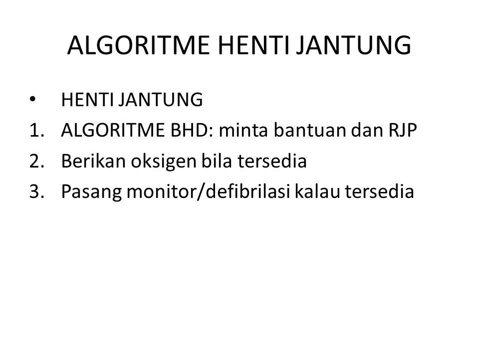 ALGORITME HENTI JANTUNG