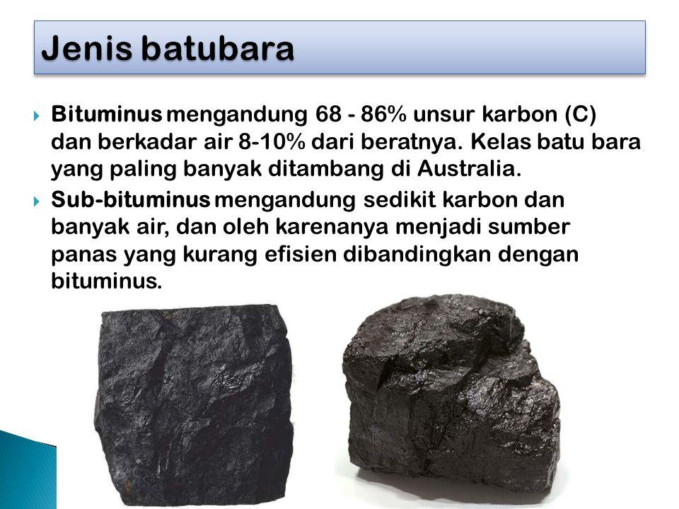 Jenis batubara