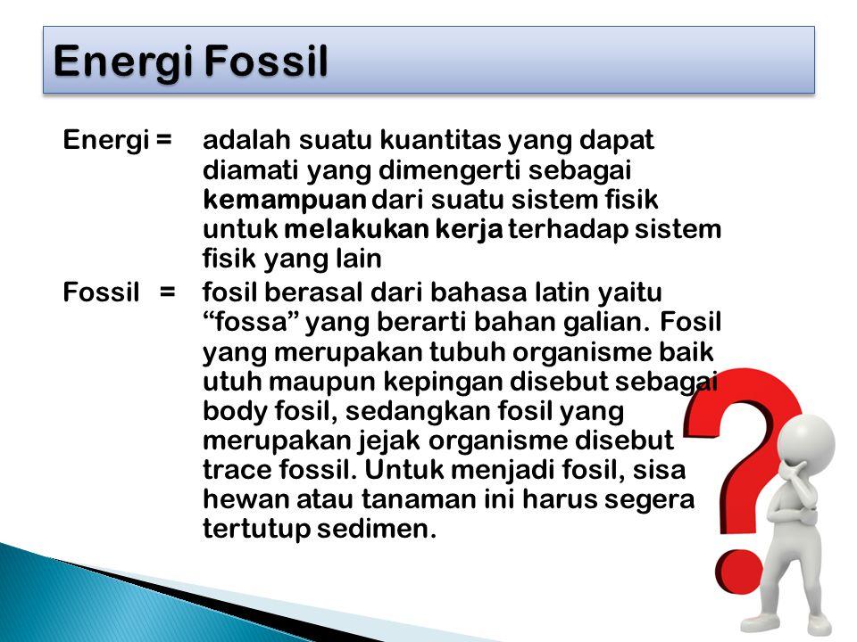 Energi Fossil
