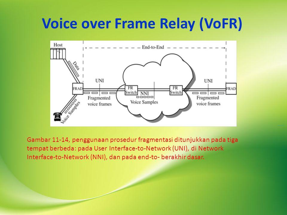 Voice over Frame Relay (VoFR)