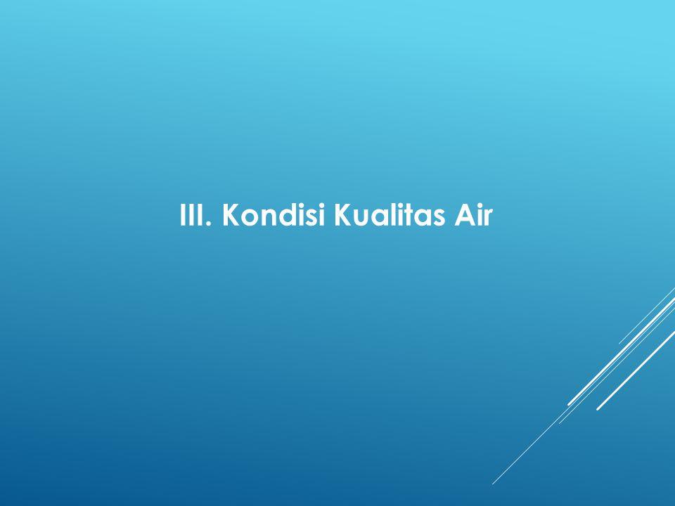 III. Kondisi Kualitas Air