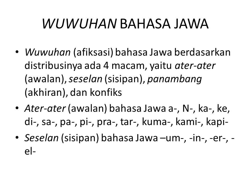 WUWUHAN BAHASA JAWA