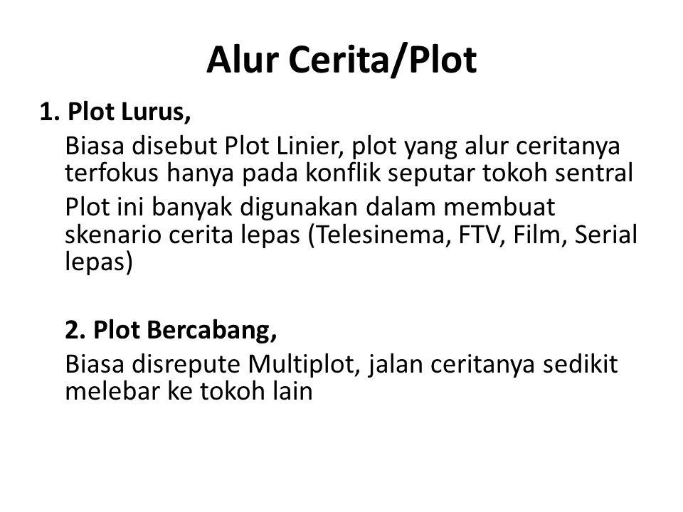 Alur Cerita/Plot 1. Plot Lurus,