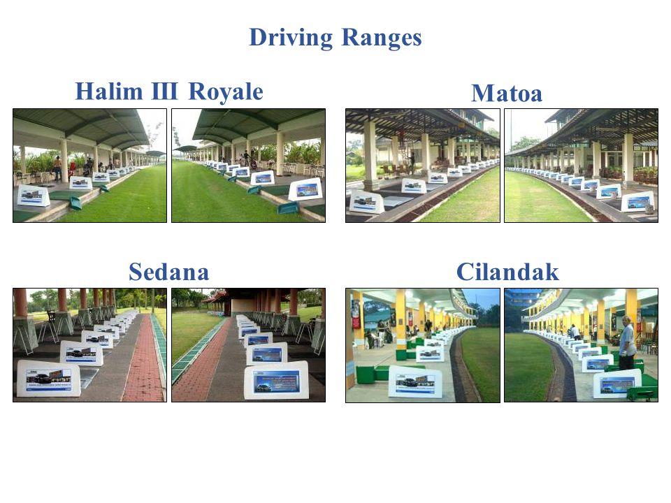 Driving Ranges Halim III Royale Matoa Sedana Cilandak