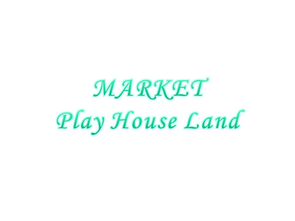 MARKET Play House Land
