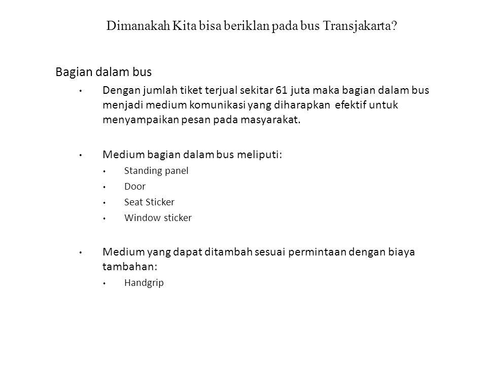 Dimanakah Kita bisa beriklan pada bus Transjakarta