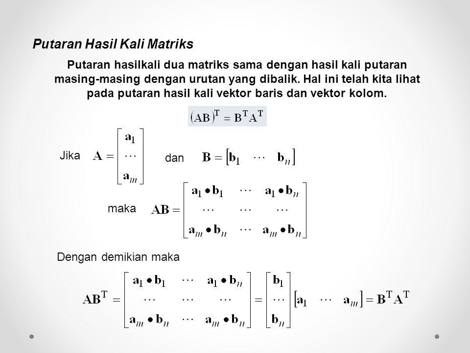 Putaran Hasil Kali Matriks