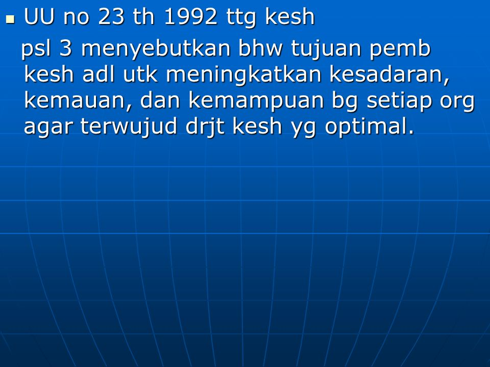 UU no 23 th 1992 ttg kesh