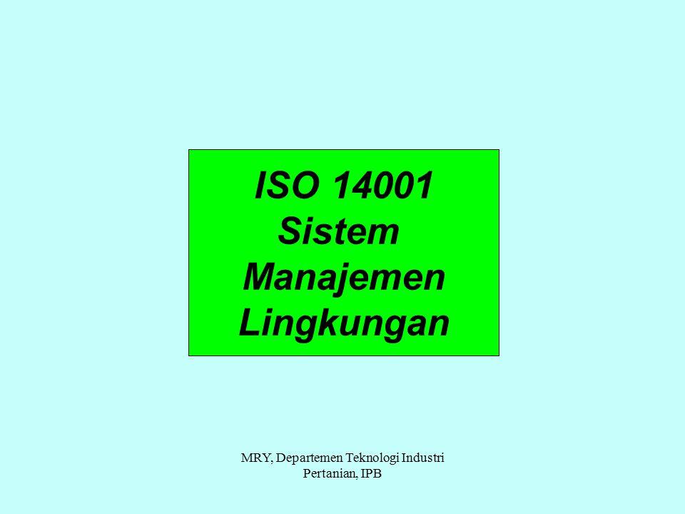 MRY, Departemen Teknologi Industri Pertanian, IPB