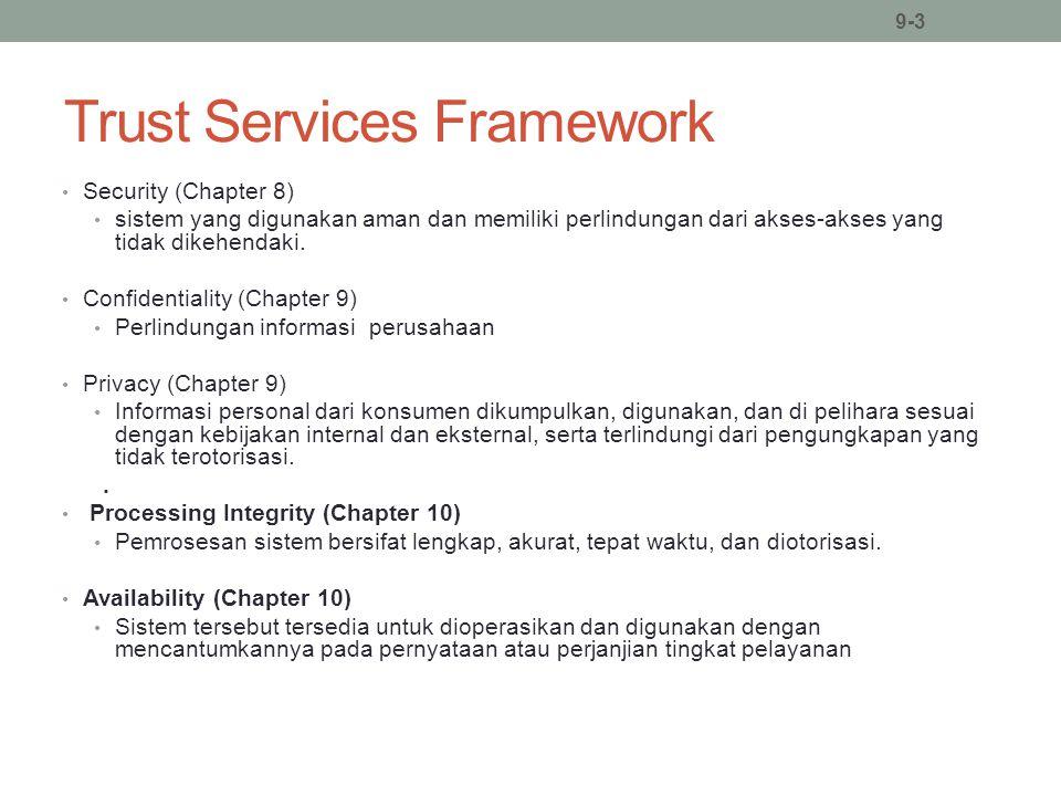 Trust Services Framework