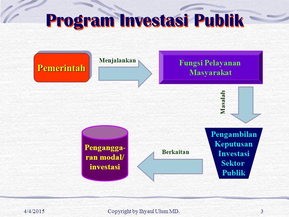 Program Investasi Publik