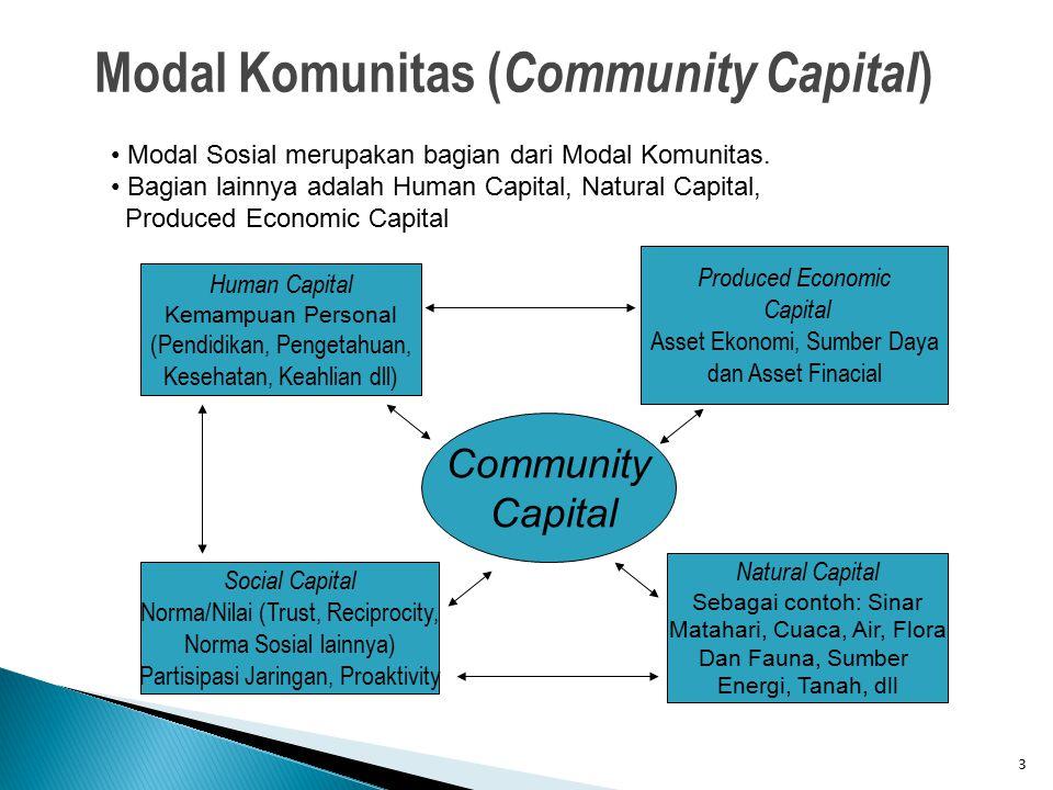 Modal Komunitas (Community Capital)