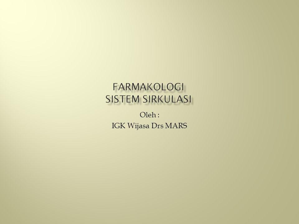 Farmakologi Sistem Sirkulasi