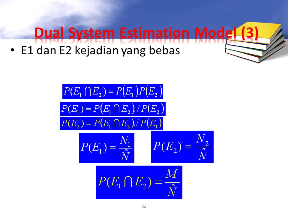 Dual System Estimation Model (3)