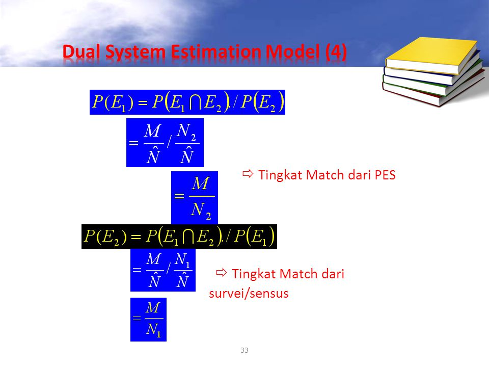 Dual System Estimation Model (4)