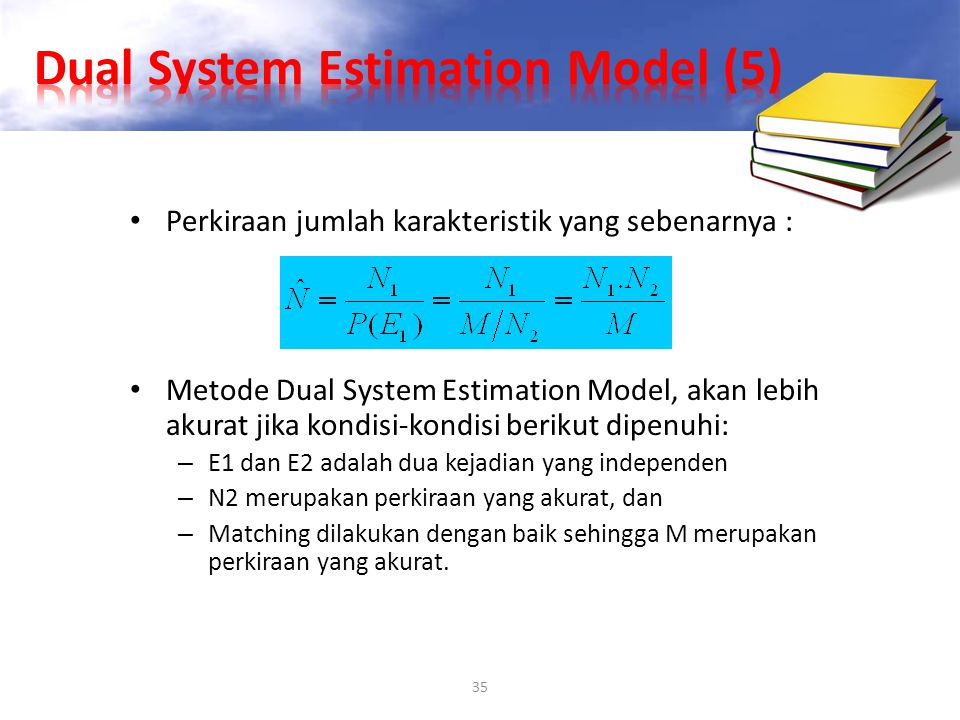 Dual System Estimation Model (5)
