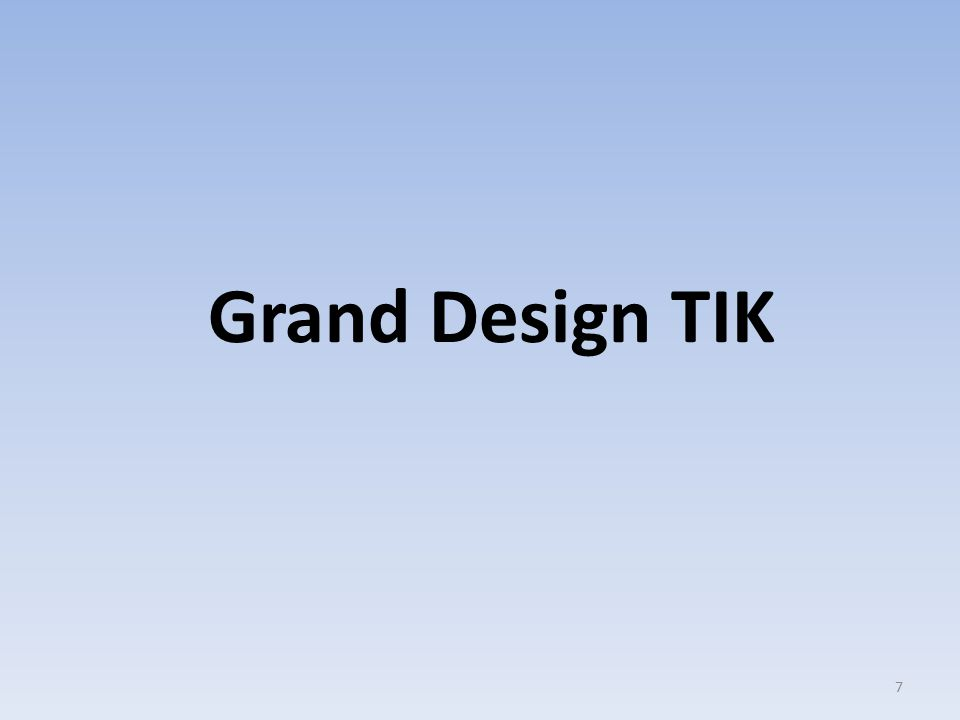 Grand Design TIK