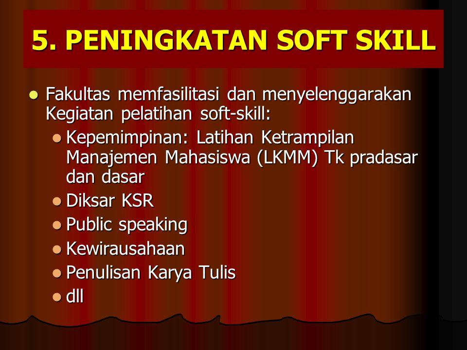 5. Peningkatan Soft Skill
