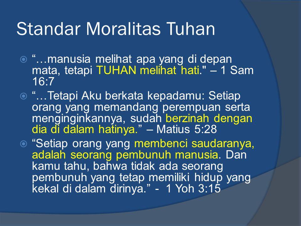 Standar Moralitas Tuhan