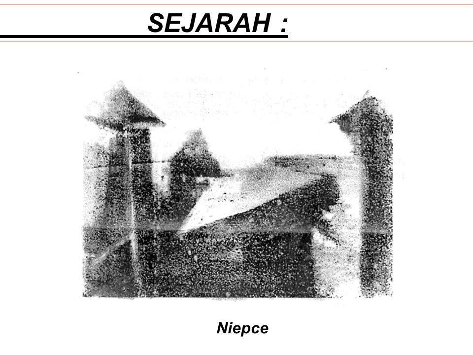 SEJARAH : Niepce