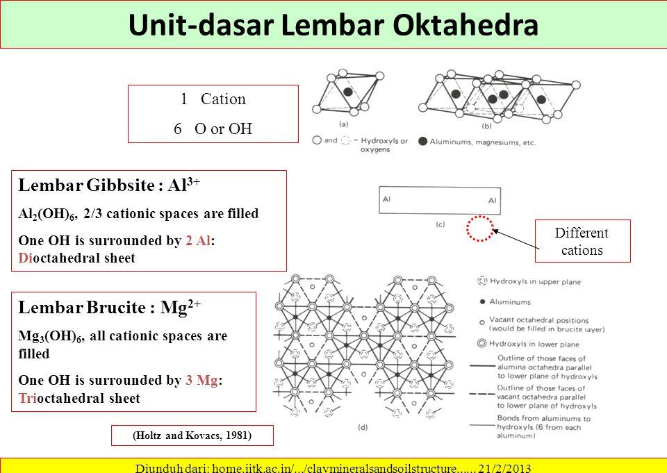 Unit-dasar Lembar Oktahedra
