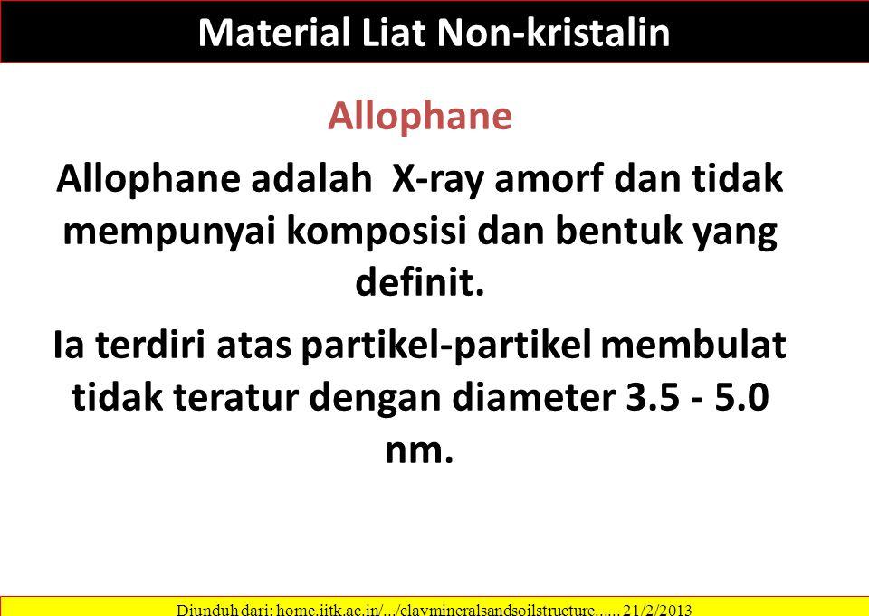 Material Liat Non-kristalin
