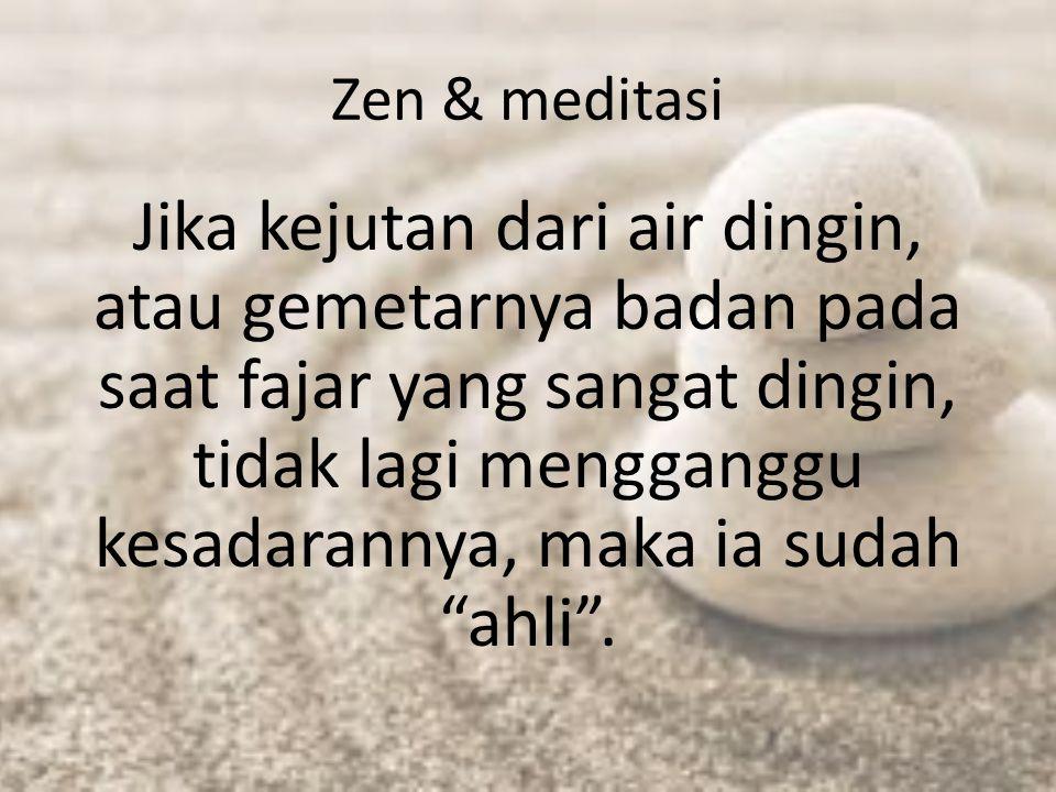 Zen & meditasi