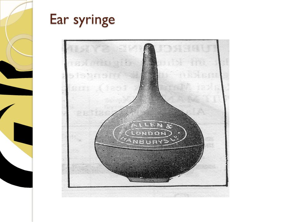 Ear syringe