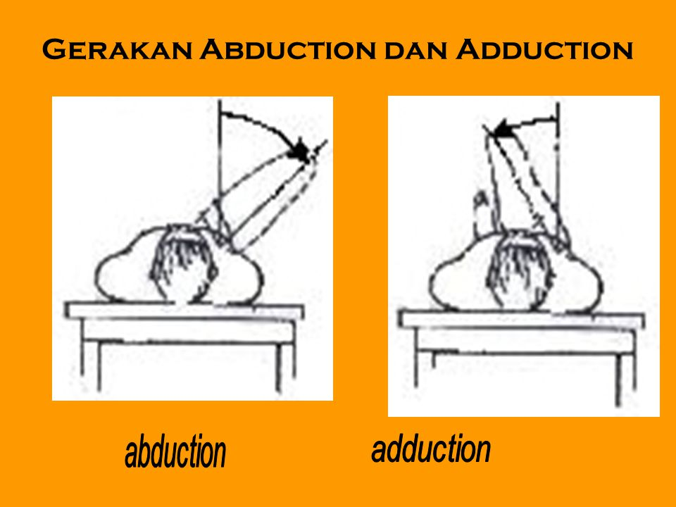 Gerakan Abduction dan Adduction