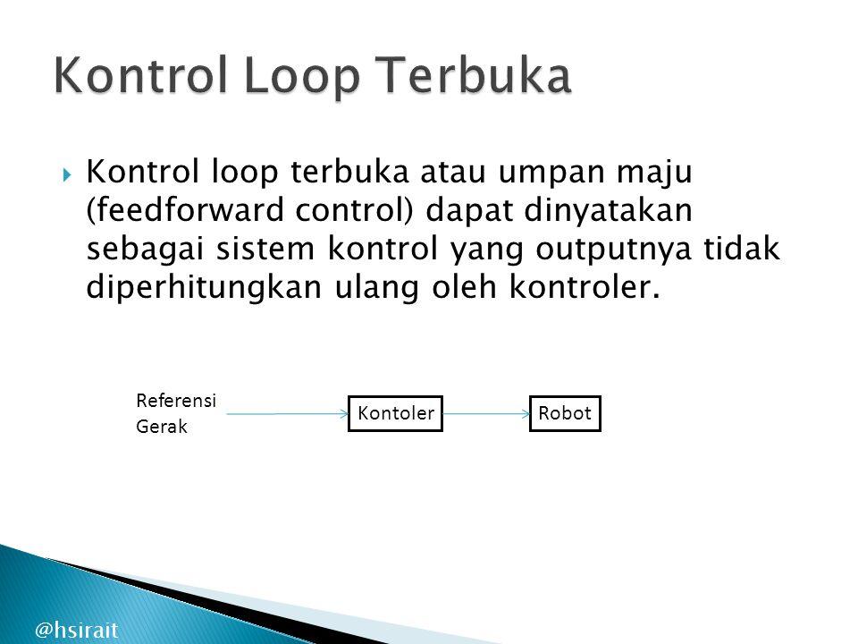 Kontrol Loop Terbuka